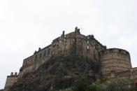 View of the Edinburgh Castle