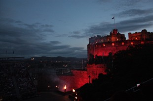Show takes place on the castle esplanade