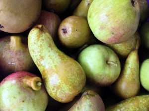 cooking apples and pears
