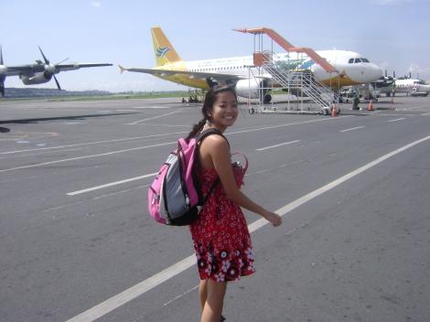 the plane to Boracay felt like a tin can