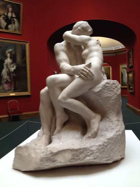Rodin's The Kiss is currently at the National Gallery!
